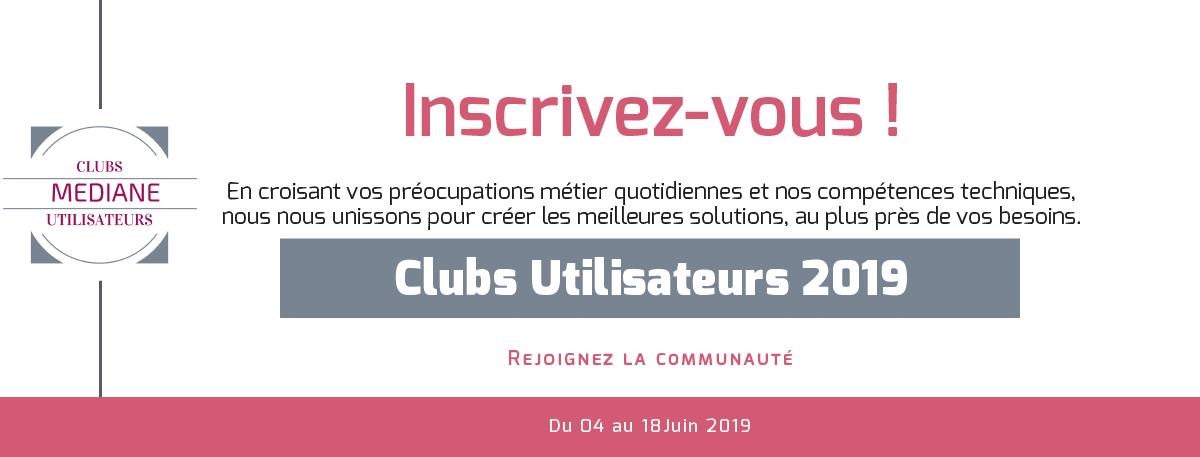 clubs utilisateurs 2019
